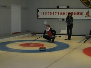 North Hatley Curling Club action 6